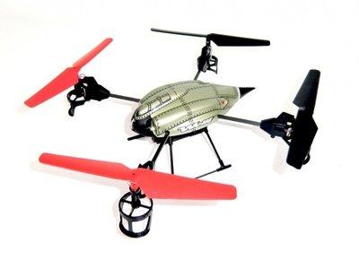 RC Quadcopter WL Toys V959 2.4 GHz 4-kanaals met HD camera