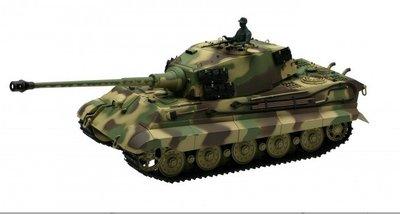 RC tank Torro Kingtiger met Henschel koepel met rook en geluid