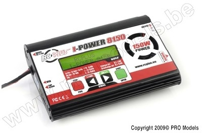 Lader RC PLUS I-POWER 8150 DC CHARGER 150W