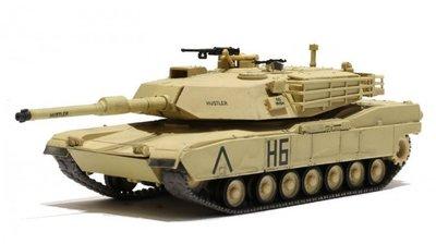 RC tank Abrams M1A1  1/72  IR battle systeem
