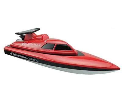 RC speedboot  Barracuda rood 27mhz RTR 28cm