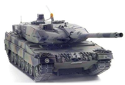 RC tank Tamiya 56020  bouwpakket Leopard 2A6 Full Option Kit 1:16