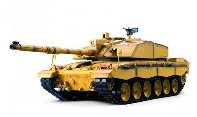RC tank Heng Long Britse Challenger 2.4GHZ  met schietfunctie rook en geluid