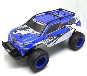 RC Monstertruck Speed RTR 1:10 4WD  blauw 2WD 37 cm RTR