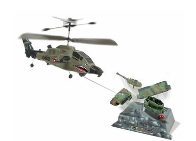 RC helicopter Attack Copter RTF