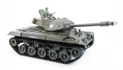 RC tank  M41 A3 HL WALKER BULLDOG  Rook & Geluid, IR en BB functie en TK 7.0 electronica Schaal 1:16 23011