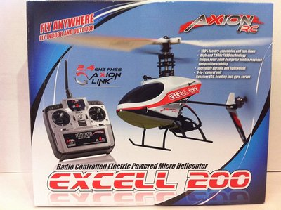 RC helicopter Axion Excell 200 RTF Micro Electric Helicopter op=op