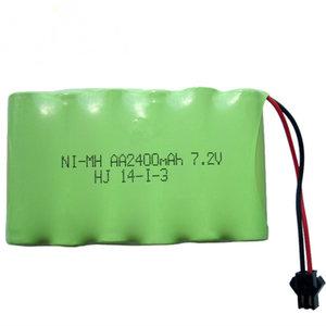 Batterij  7,2 V 2400mAh