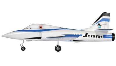RC vliegtuig 24067 Jet Star 800mm brushless 65mm EDF, PNP