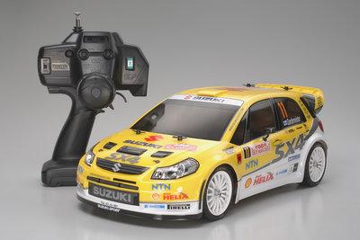 RC auto Tamiya 57777 1/10 XB Pro Suzuki SX4 WRC RTR