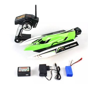 RC speedboot Wltoys WL915 2.4G Brushless High Speed 45km / h Racing RC Boat RTR