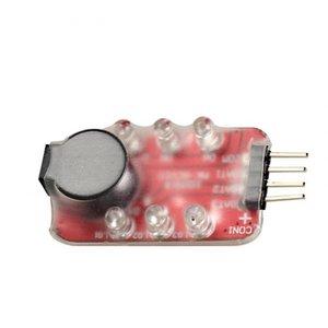 Lipo batterij saver en alarm 2 en 3 cel RC Lipo Battery Low Voltage Monitor Alarm Tester Buzzer