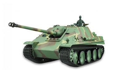 RC tank  Jachtpanther 1:16 rook en geluid en gedetailleerde uitvoering
