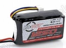 Lipo battereij Python plus 25-30C 1250 3S1P 11,1V