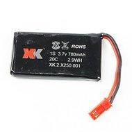 Batterij 3,7 V 780 mAh lipo batterij voor XK250