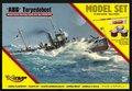 Bouwpakket-Mirage-Hobby-845091-A86-Torpedoboot-(Niemiecki-Torpedowiec-Obrony-Wybrzeża-typ-A-III-56-1916)-(MODEL-SET)